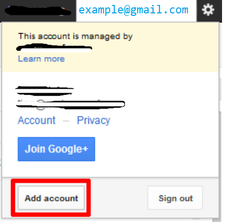 multiple-acount-for-google