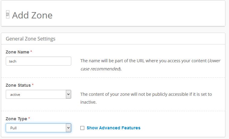 add zone CDN for wordpress