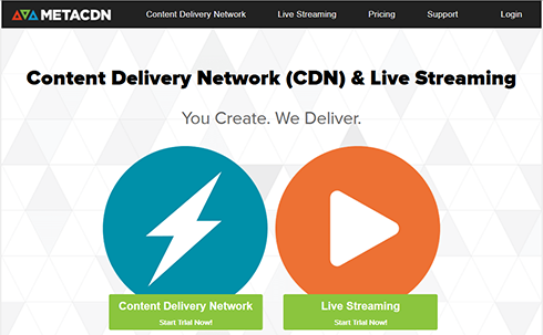 metaCDN free CDN wordpress