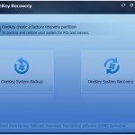 The Best Way to Backup Windows 10/8/7 and Create  Recovery Partition with Aomei OneKey Recovery