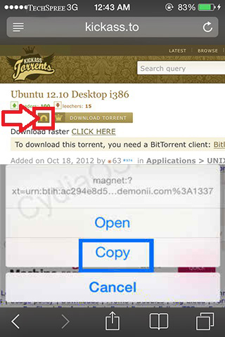 kickass download torrents on iphone ipad2
