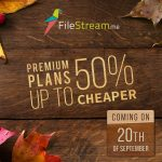 New Premium Plans of FileStream is upto 50% Cheaper