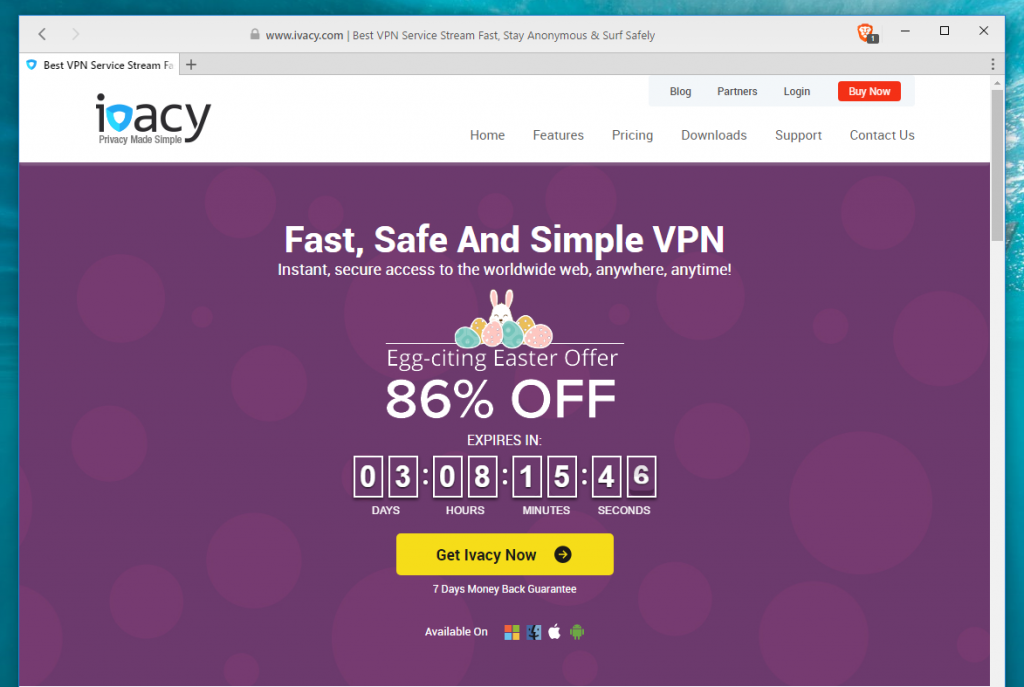 vpn for windows ivacy