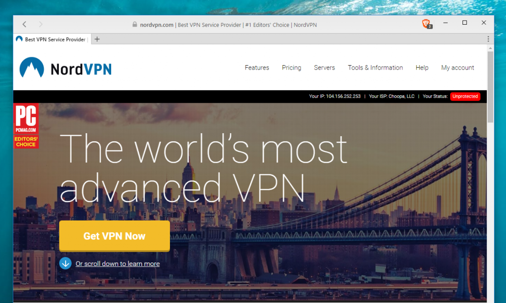 vpn for windows nordvpn