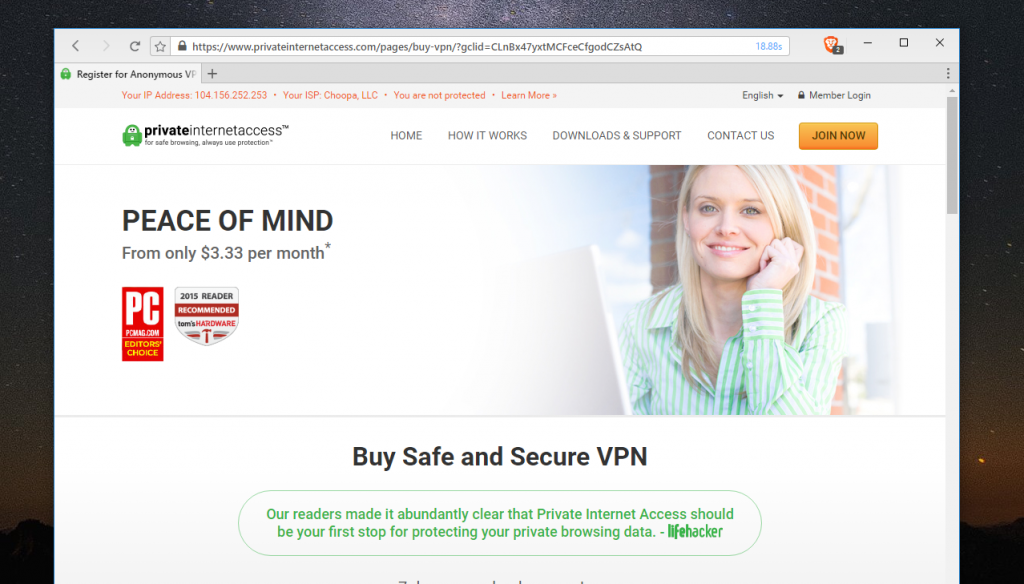 vpn for windows private internet access
