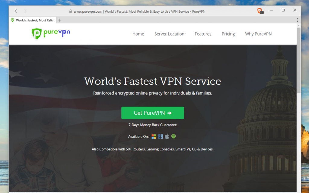 vpn for windows purevpn