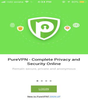 VPN for iphone PureVPN 1