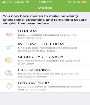 VPN for iphone PureVPN 2