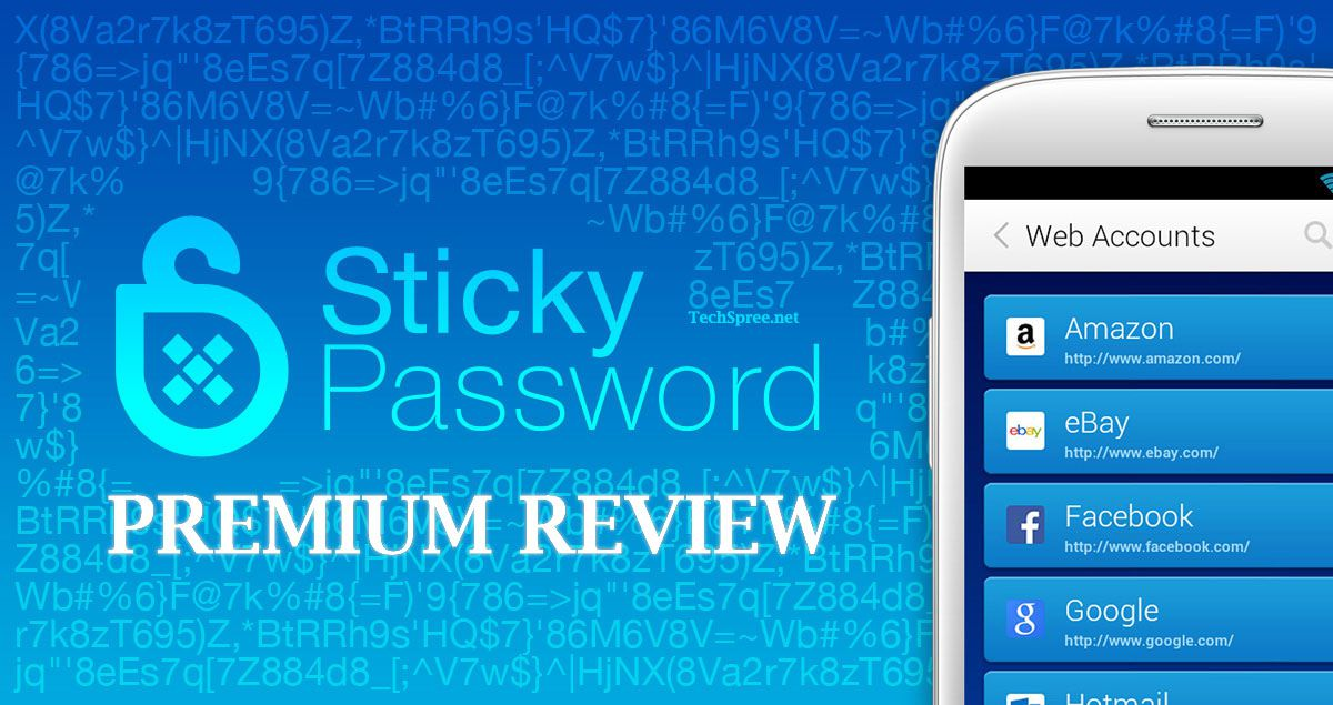 sticky password review by techspree